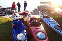 off the beach kayaks